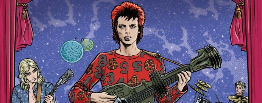 Cómic de Bowie se prepara para salir en 2020