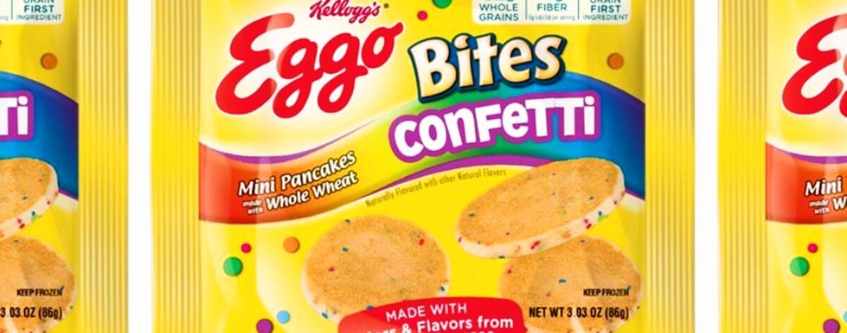 Eggo lanza mini pancakes «confetti»