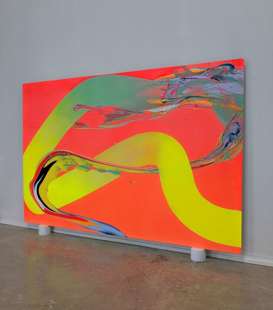 El artista explora la condición humana