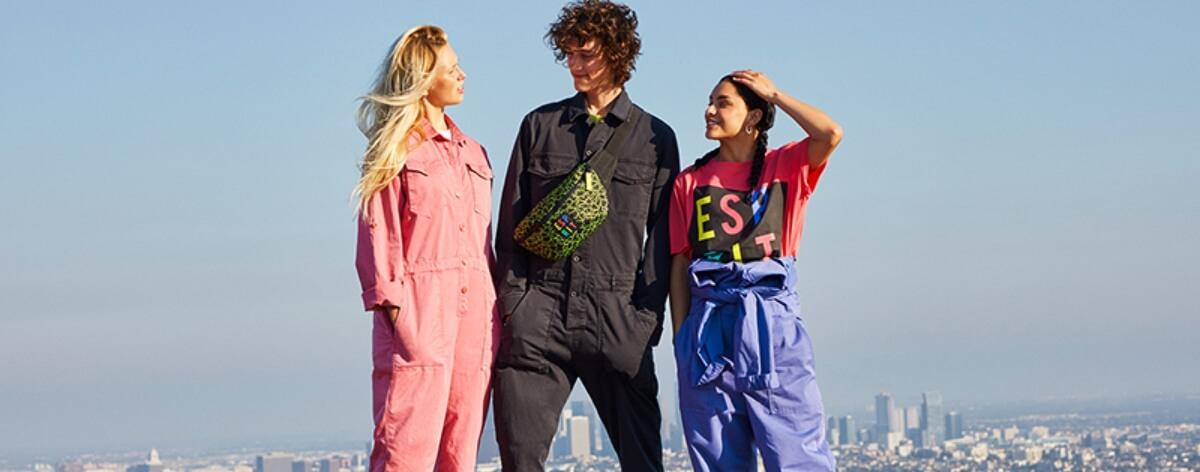Esprit regresa a los 80 con la colección 'Throwback'