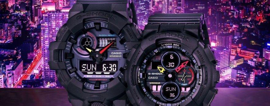 G-Shock Neo Tokyo, los nuevos relojes neón