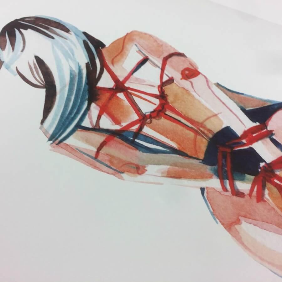 Ilustraciones eróticas