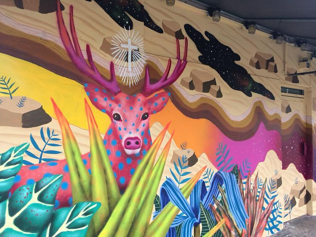 Iridiscence, one of the best murals of 2015
