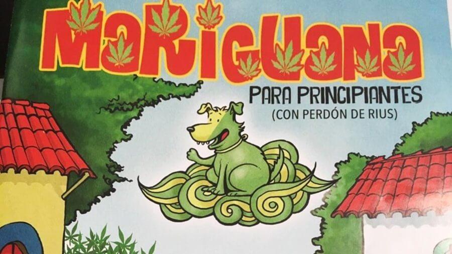 Jesus Rodríguez promueve cómic de marihuana