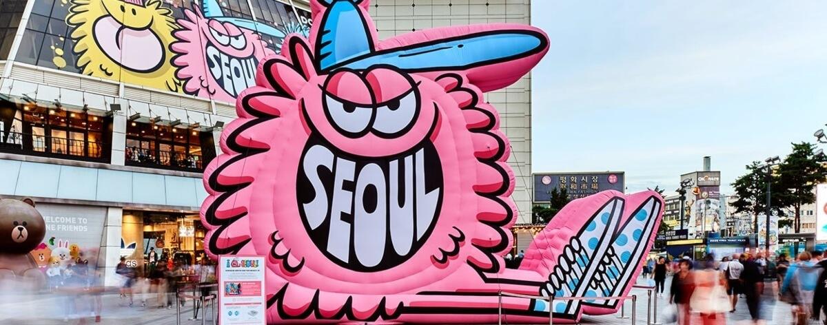 Kevin Lyons y sus coloridos monstruos llegan a Seul