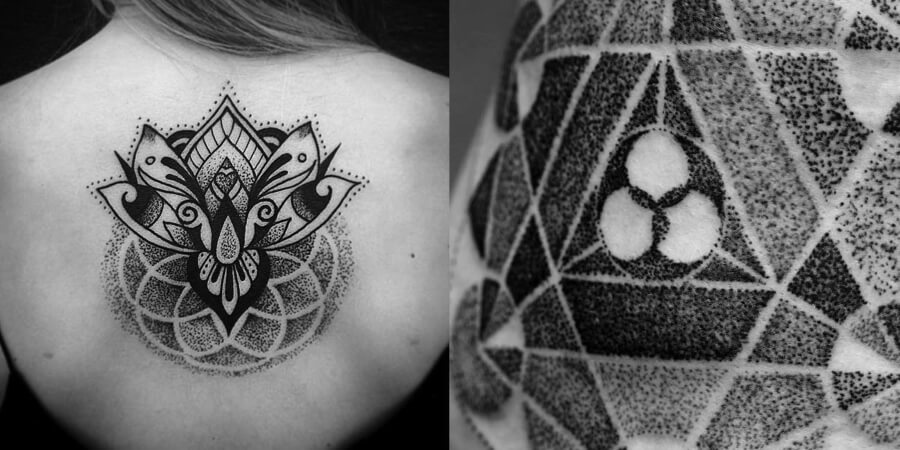 Dotwork style
