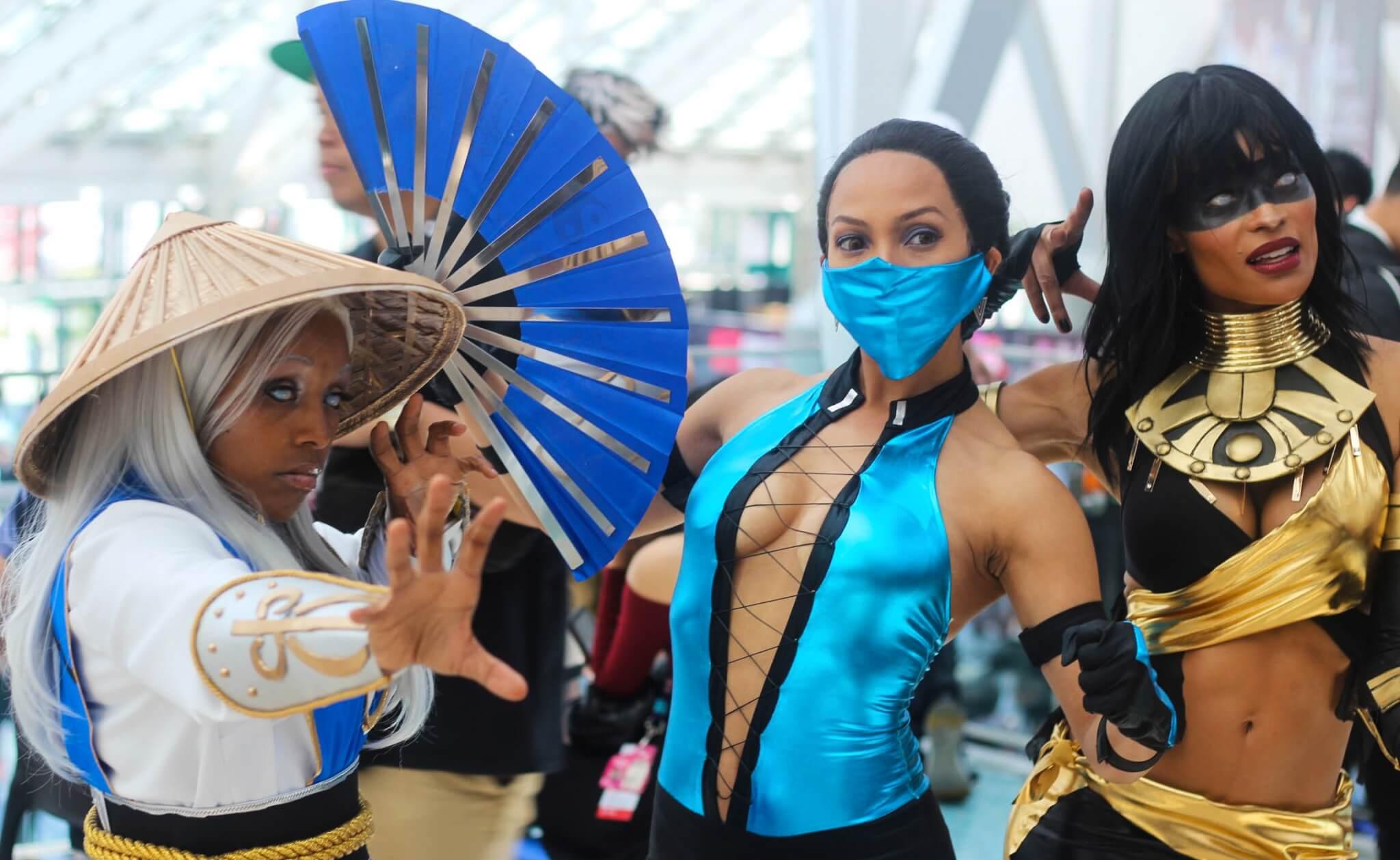 Cosplays Mortal Kombat
