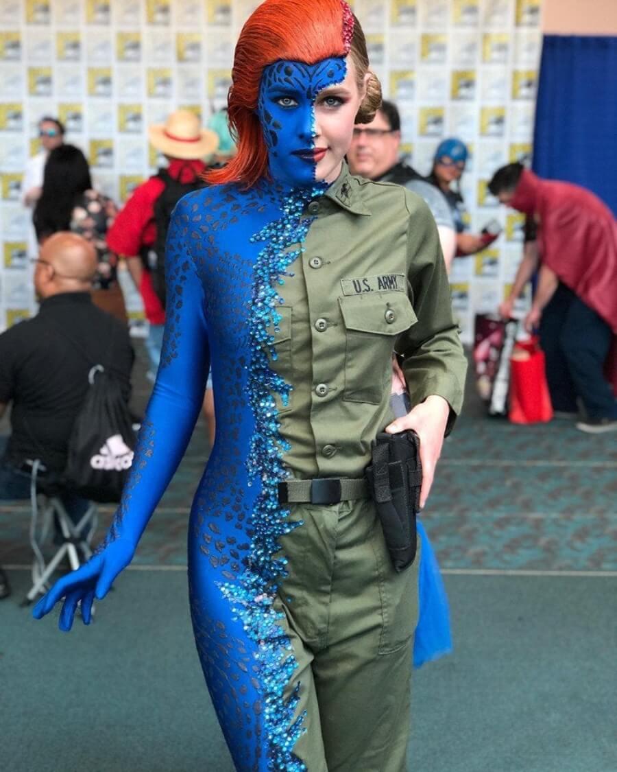Los mejores cosplays Mystique