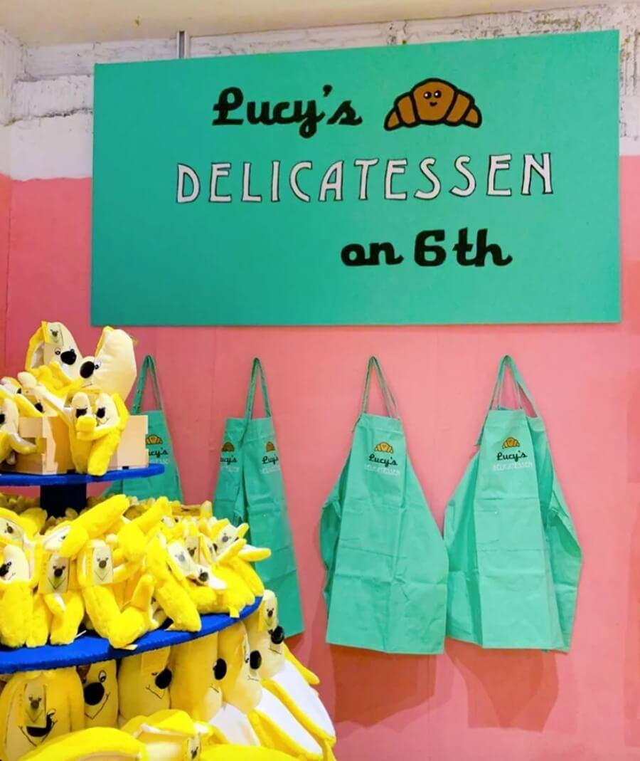 Lucy Sparrow llega con su sexta tienda a Nueva York