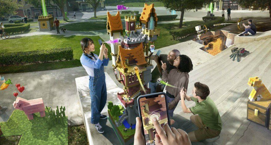 Minecraft Earth lanza su Early Bird para celulares