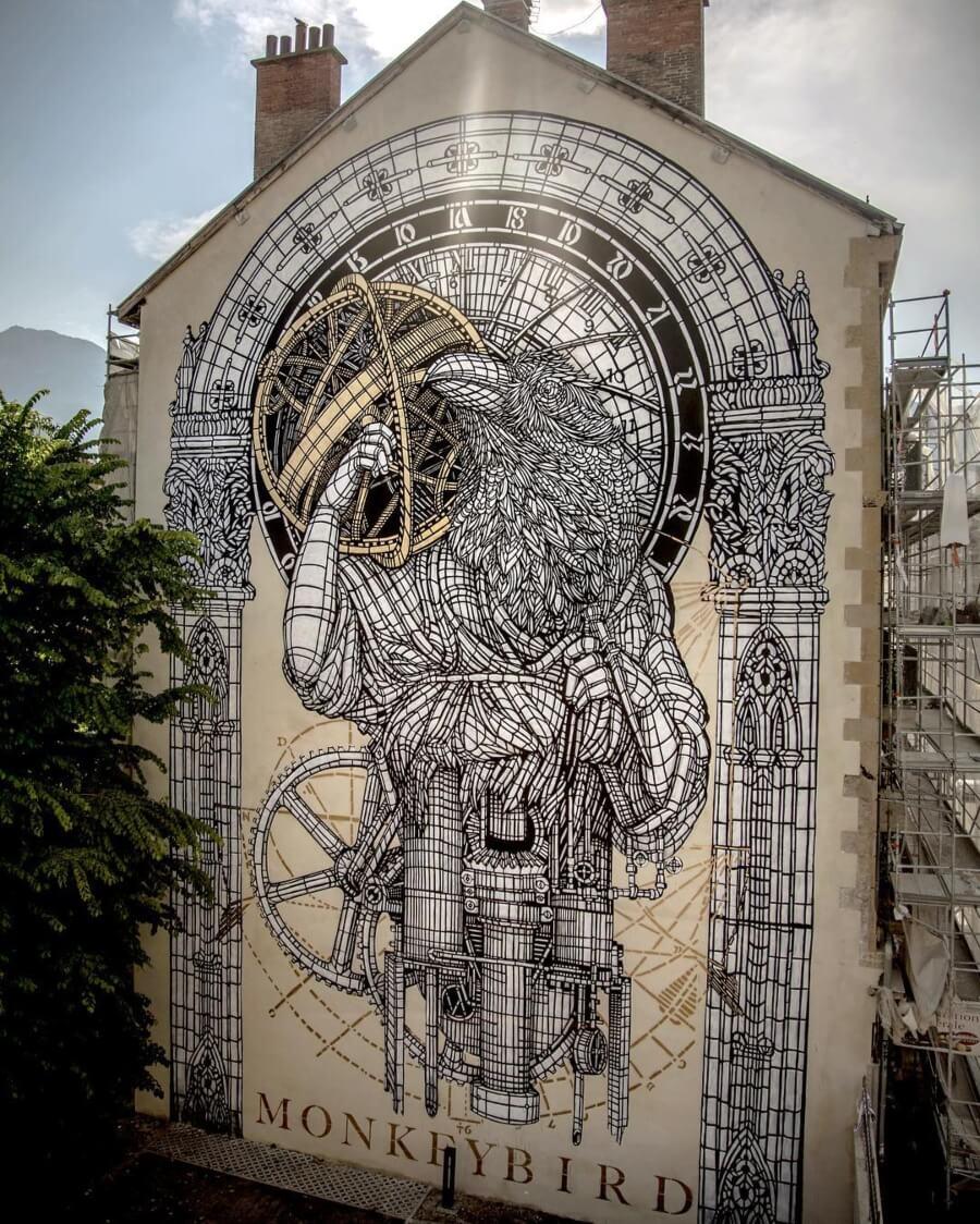 Los murales del dúo alrededor del mundo