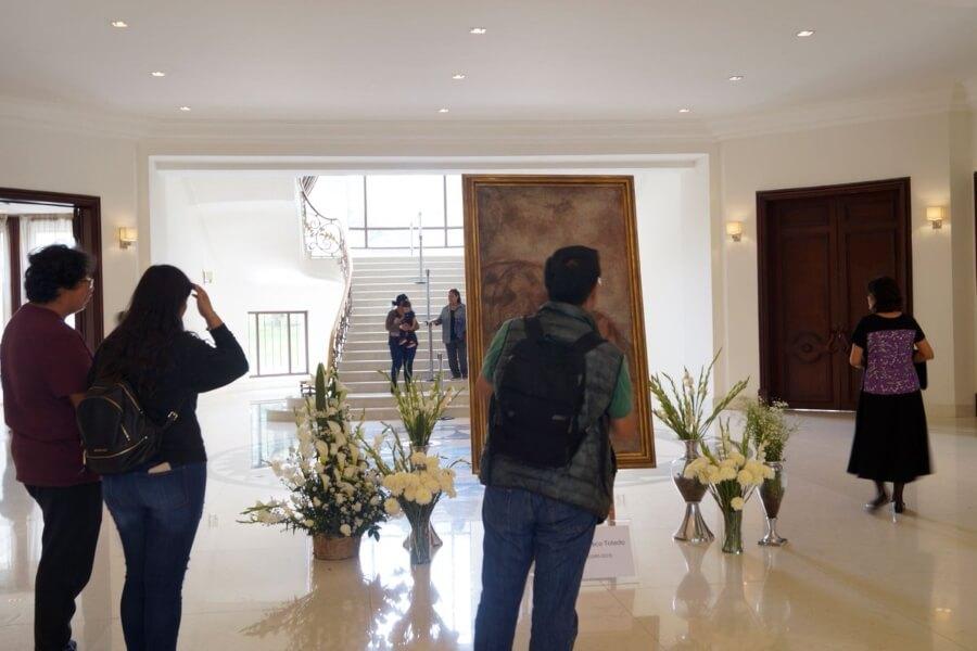 El complejo Cultural Los Pinos uno de los Museos CDMX