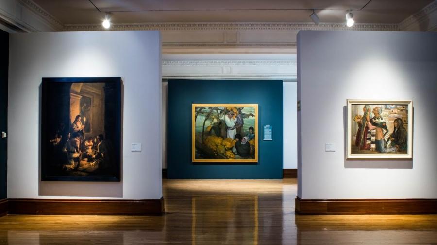 Exposición permanente del MUNAL