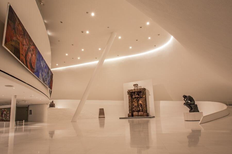 Museo Soumaya y la colección de arte de la casa Slim