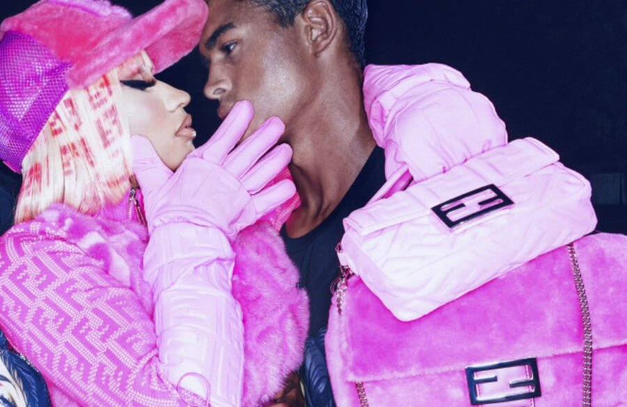 Nicki Minaj y Fendi