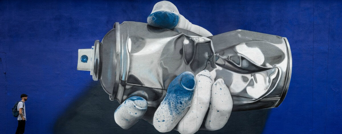 Nuno Viegas, el graffiti en un arte más limpio