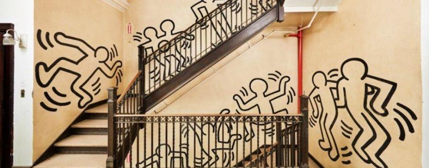 Obra de Keith Haring fue removida de su lugar