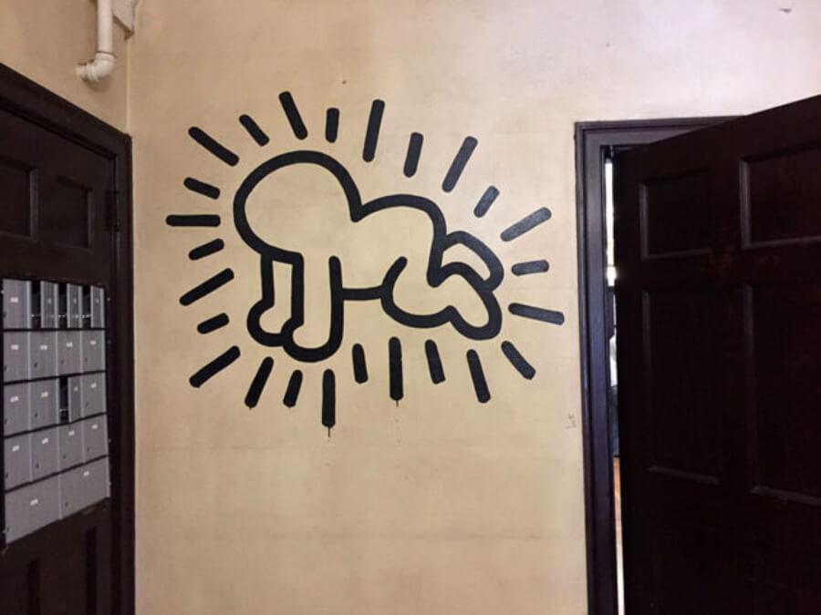 Obra de Keith Haring será subastada