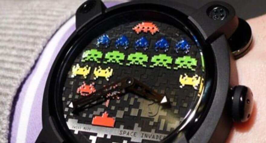 Space Invader lanzó su reloj oficial con Romain Jerome