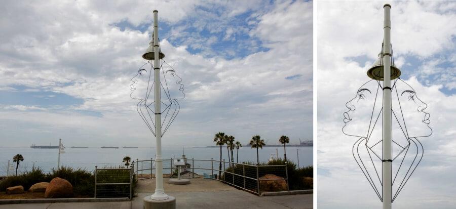 Spenser Little y sus esculturas públicas de alambre