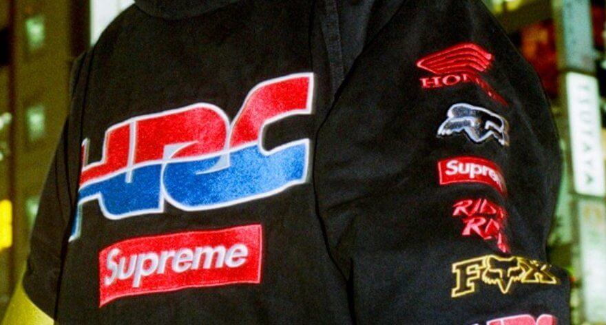 Fox Racing y Honda con nueva ropa Supreme