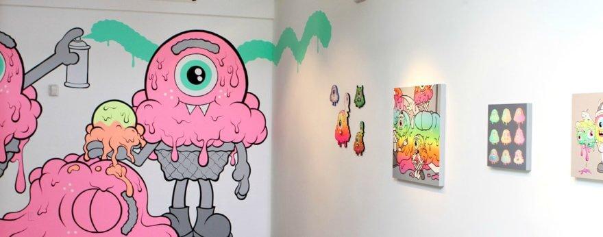 Surface Fetish, nueva exposición de Buff Monster y Dalek