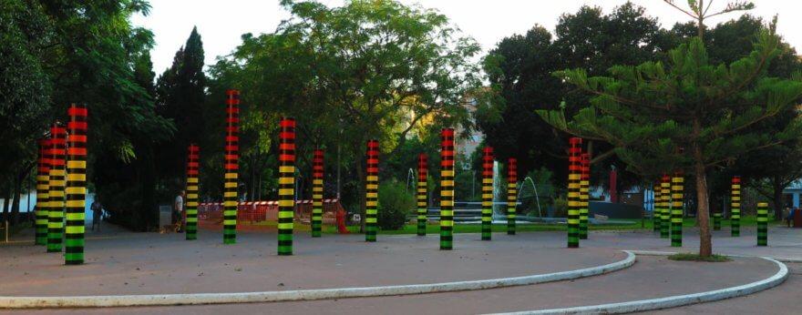 The Equalizer, instalación de AMADAMA en homenaje al dance en Ibiza