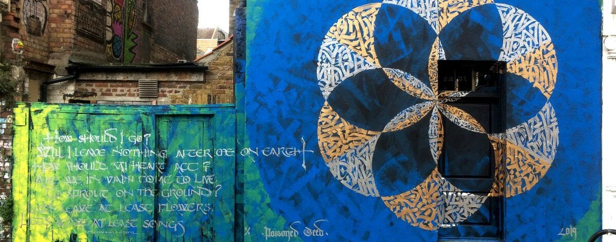 Three Flowers for London, las flores de Said Dokins