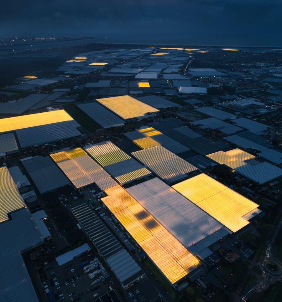 Tom Hegen y su fotografía de invernaderos LED