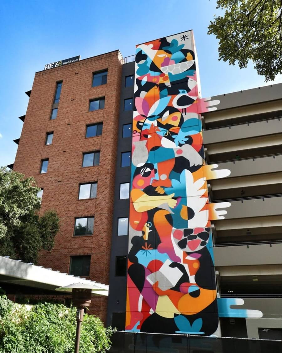 Ruben Sánchez mural