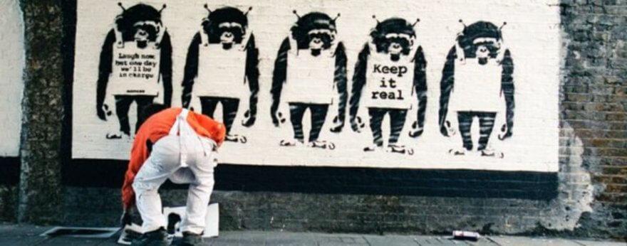 Banksy Captured, el libro con fotos del artista tomadas por Steve Lazarides