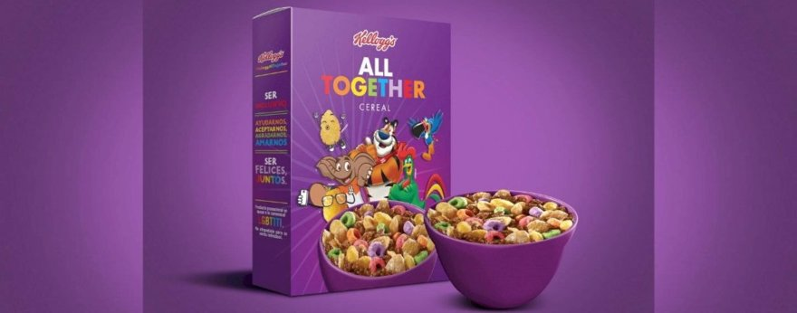 All Together, el cereal en pro de la comunidad LGBTQ+