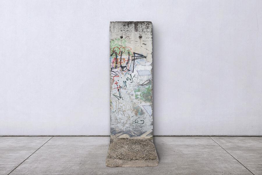 segmento del Berlin Mauer pintado por 1UP