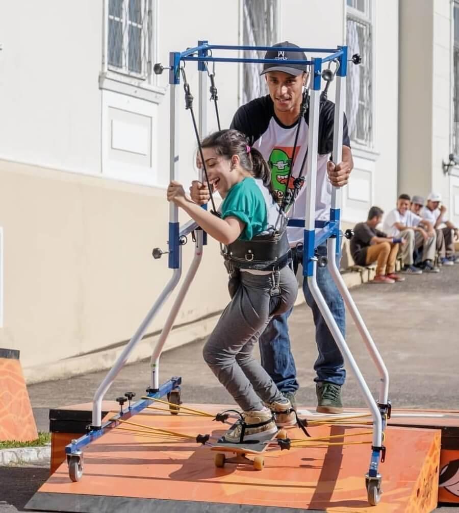Skate Anima, el proyecto que incluye a niños con capacidades diferentes en el skate