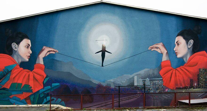 Artez, street art del realismo a la ilustración