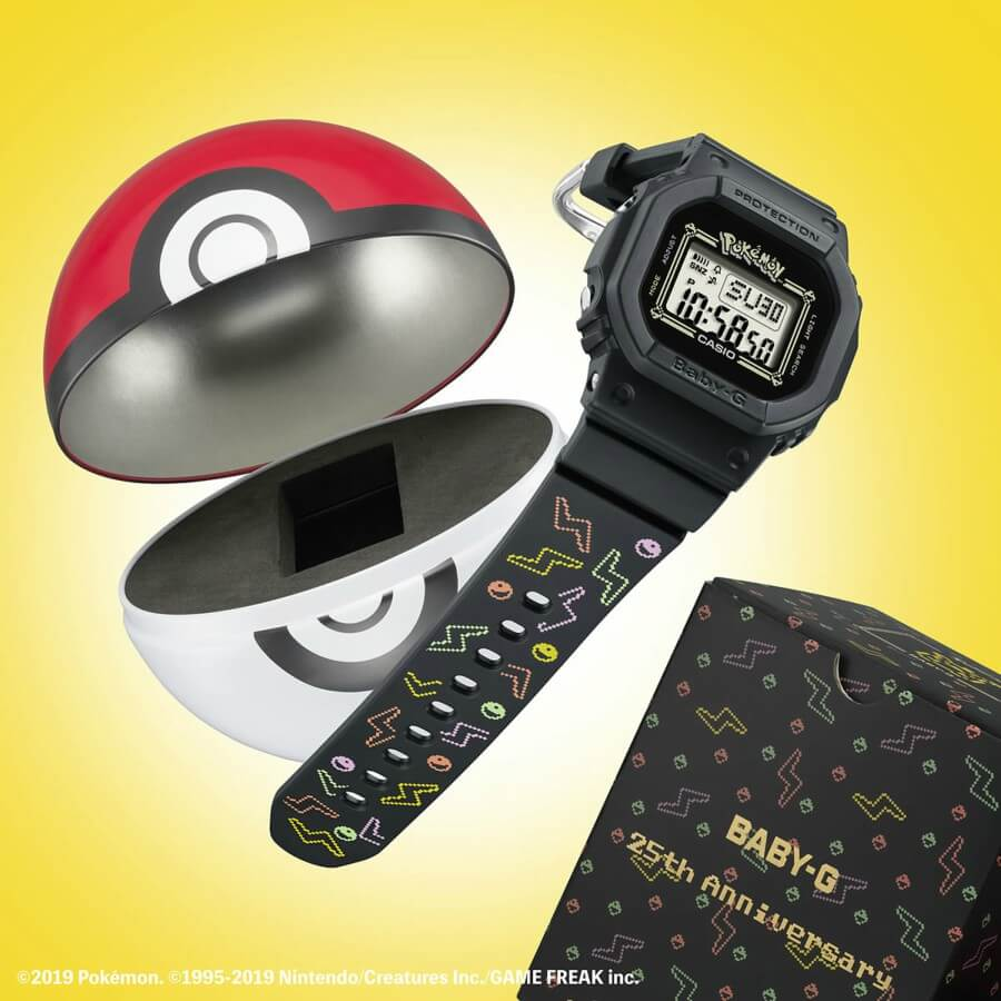 Casio y Pokémon