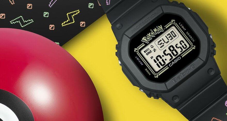Baby-G celebra 25 aniversario con Pokémon y Casio