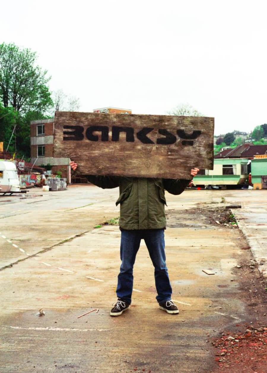 Banksy Captured, libro de fotos de Banksy por Steve LAzarides