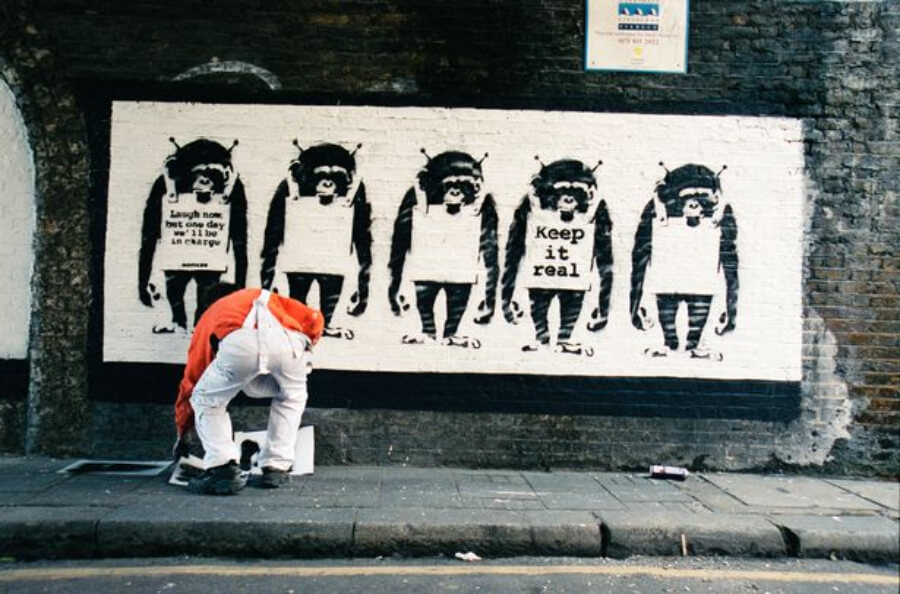 Banksy and his work