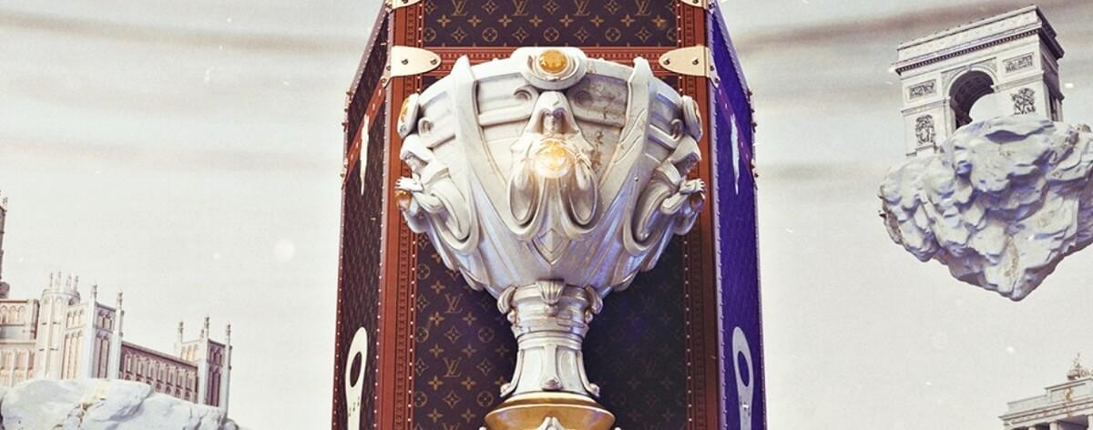 Baúl de League of Legends y Louis Vuitton fue terminado
