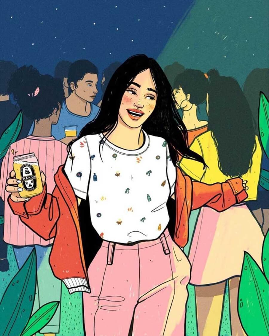 Be Fernández ilustración digital