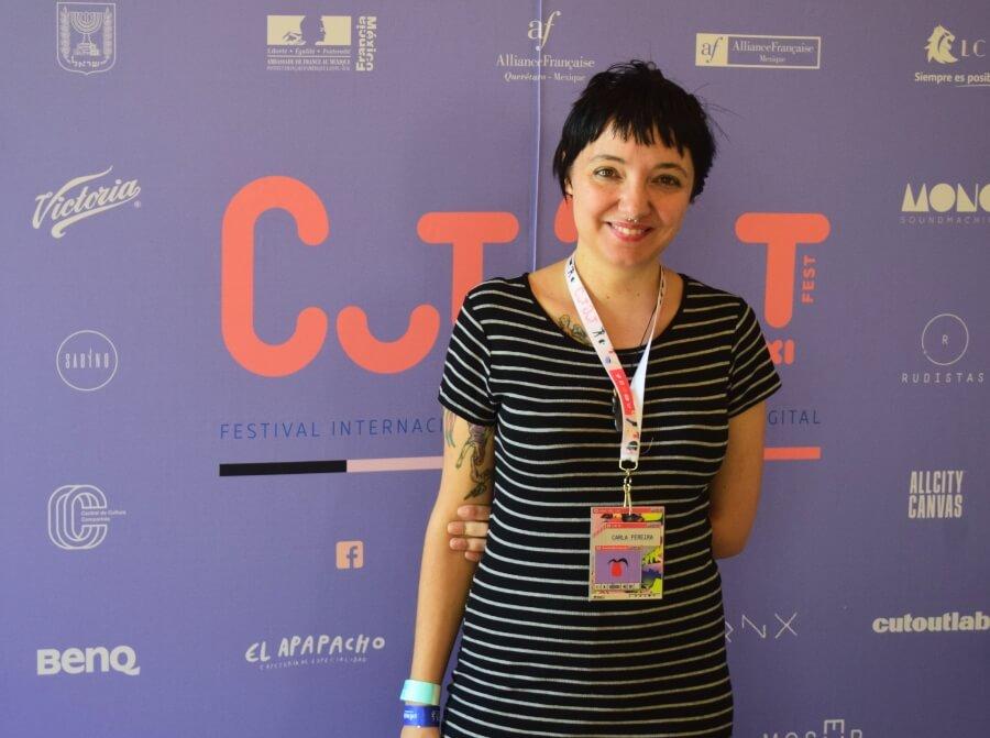 Carla Pereira en entrevista