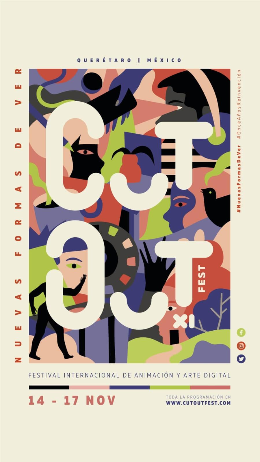Cut Out Fest se llevrá a cabo del 14 al 17 de noviembre