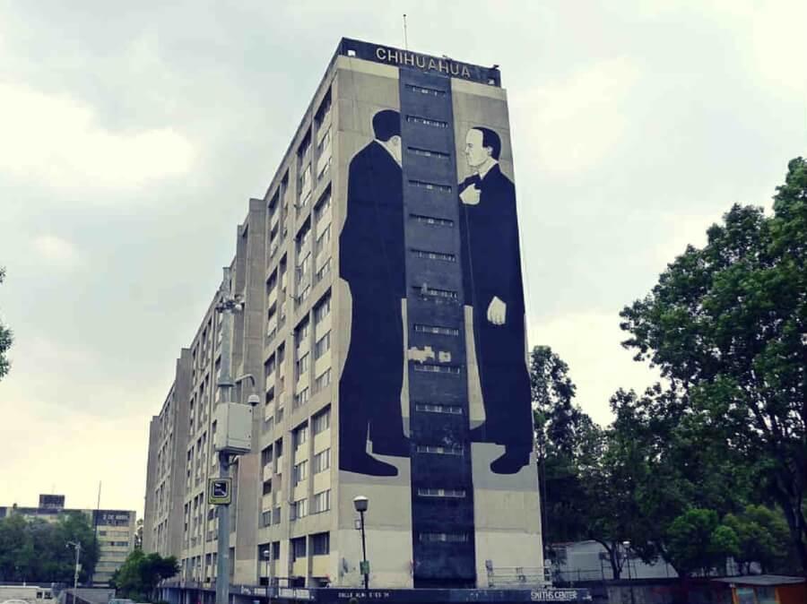 El mural político de Escif