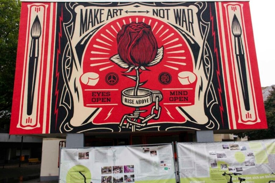 El mejor street art con mensaje social