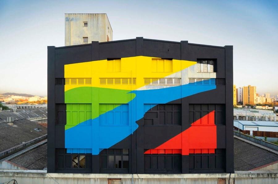 Elian Chali, arquitectura, ciudades y street art