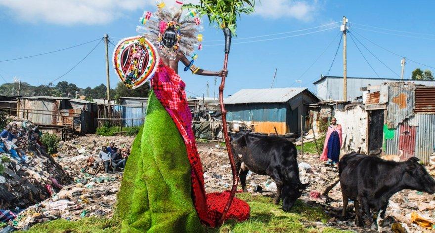 Fabrice Monteiro y su serie de foto 'The Prophecy»