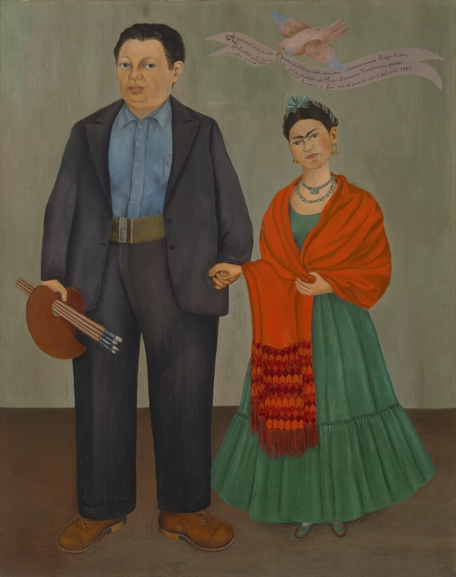 Painting by Diego Rivera and Frida Kahlo