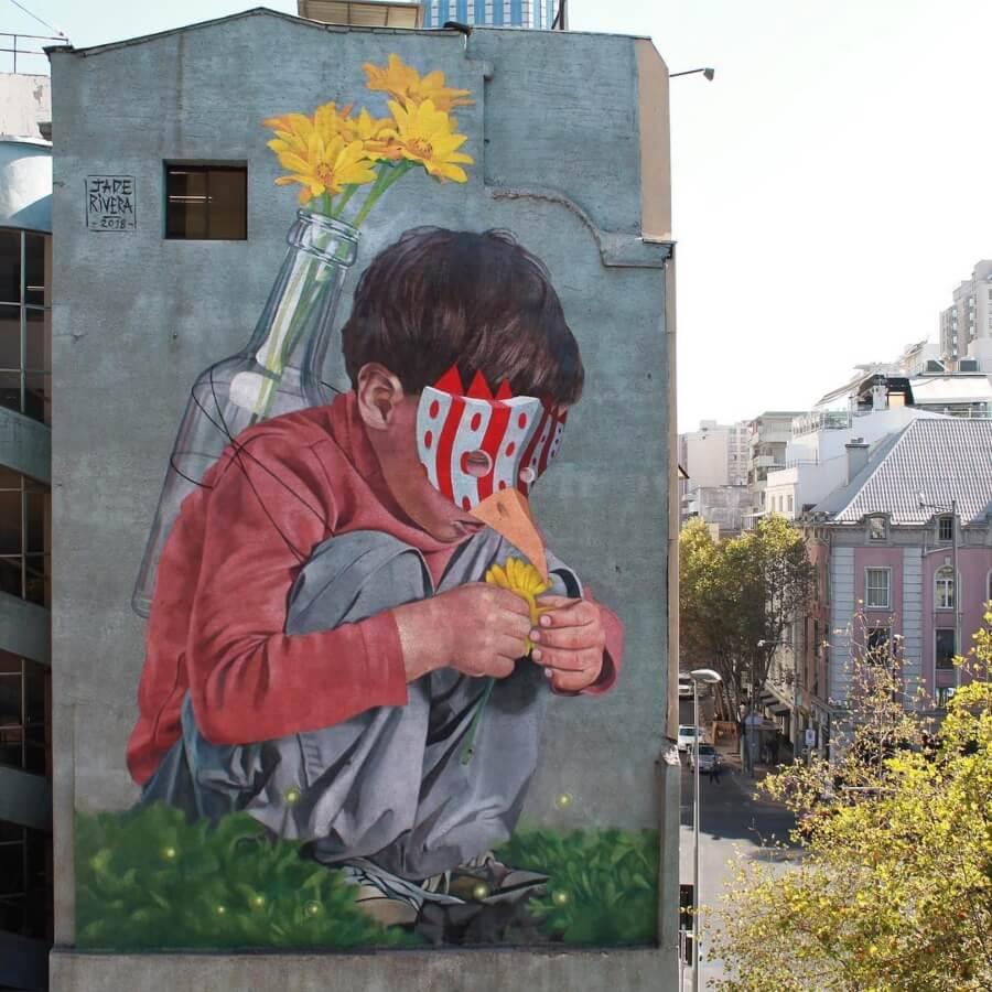 Jade Rivera y sus mejores murales