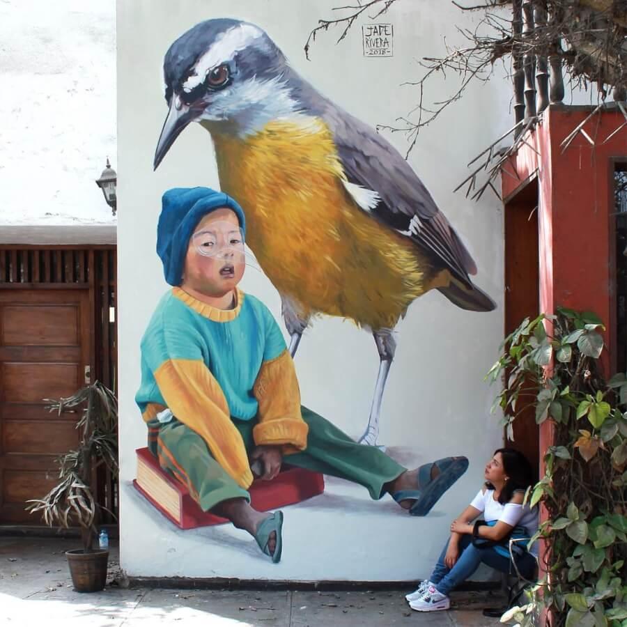 Mural por Jade